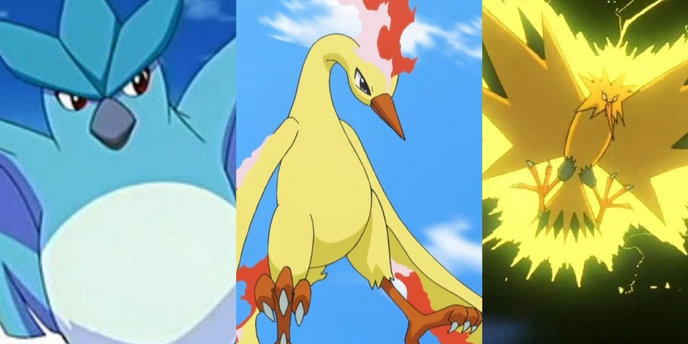 Pokémon 13 Things You Never Knew About Articuno Zapdos And Moltres