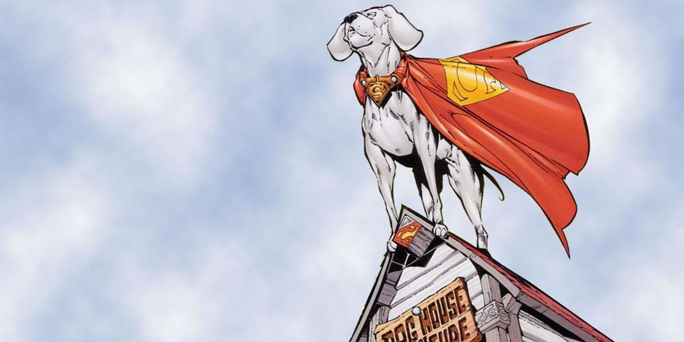 15 Things You Didn't Know About Krypto The Superdog