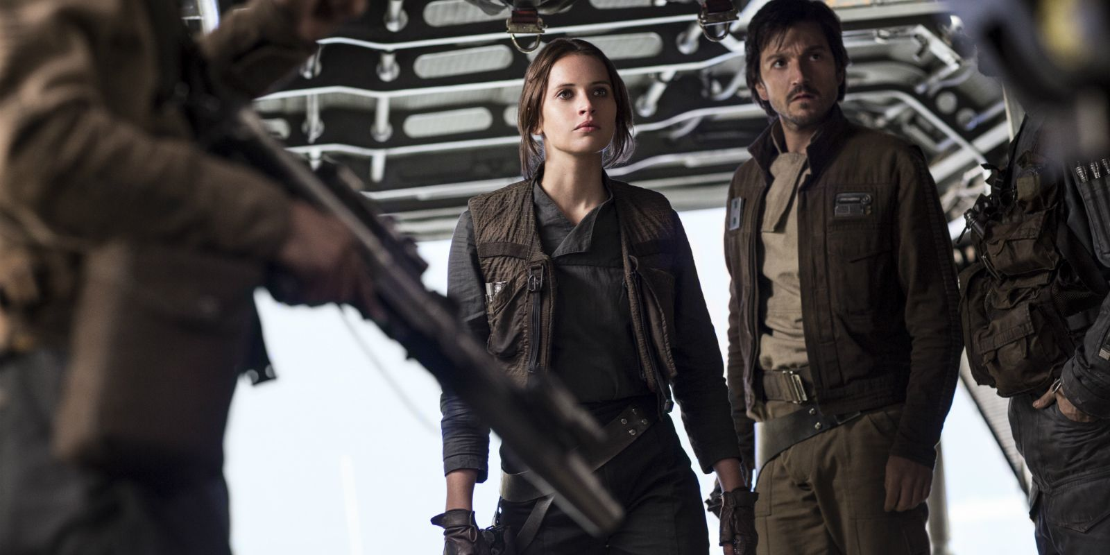 Diego Luna Says Rogue One Is 'Most Real' Star Wars Movie