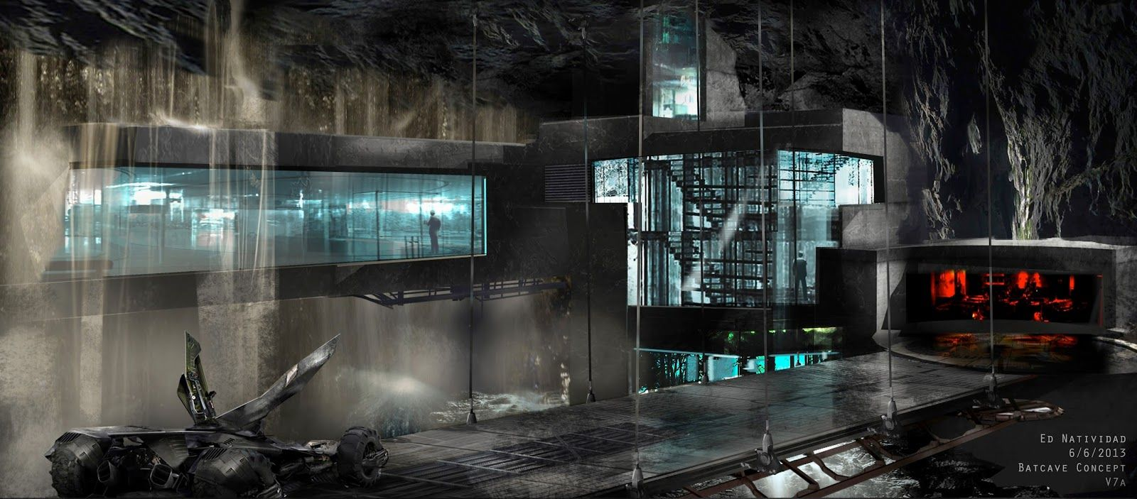 « Just a bad memory » ft. The Bat Batman-v-Superman-Dawn-Justice-Concept-Art-EN-Batcave-01