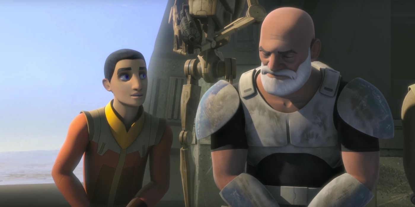 Star Wars Rebels Clip Revenge Of The Droid Army Screen Rant