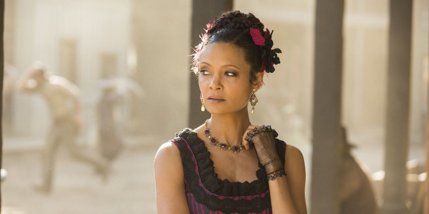 Maeve Just Developed a Crazy New Power on Westworld pictures