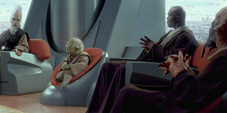 Conseil Jedi de Yoda