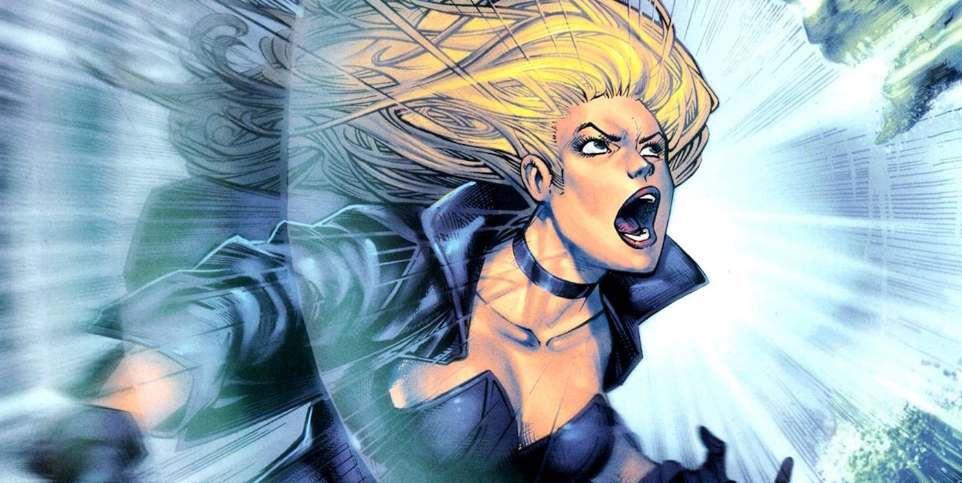Image result for black canary scream