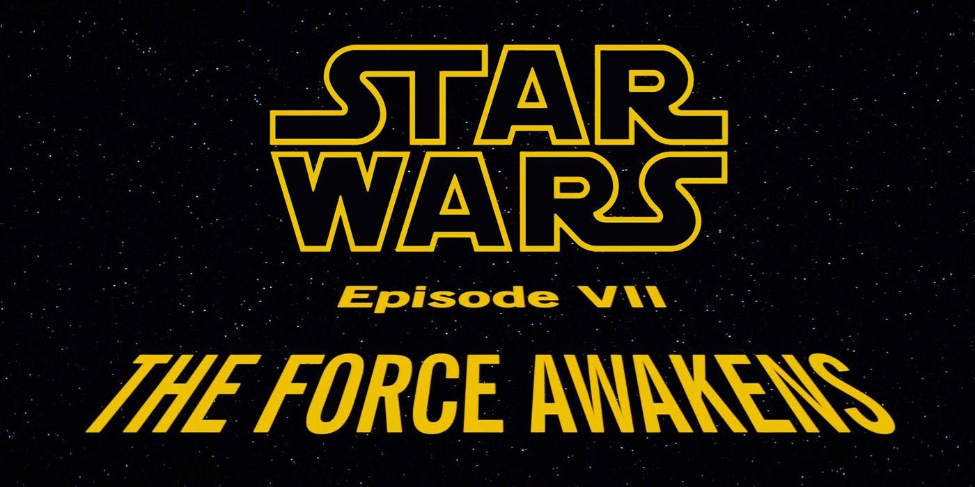 A Brief History of Star Wars Titles | ScreenRant