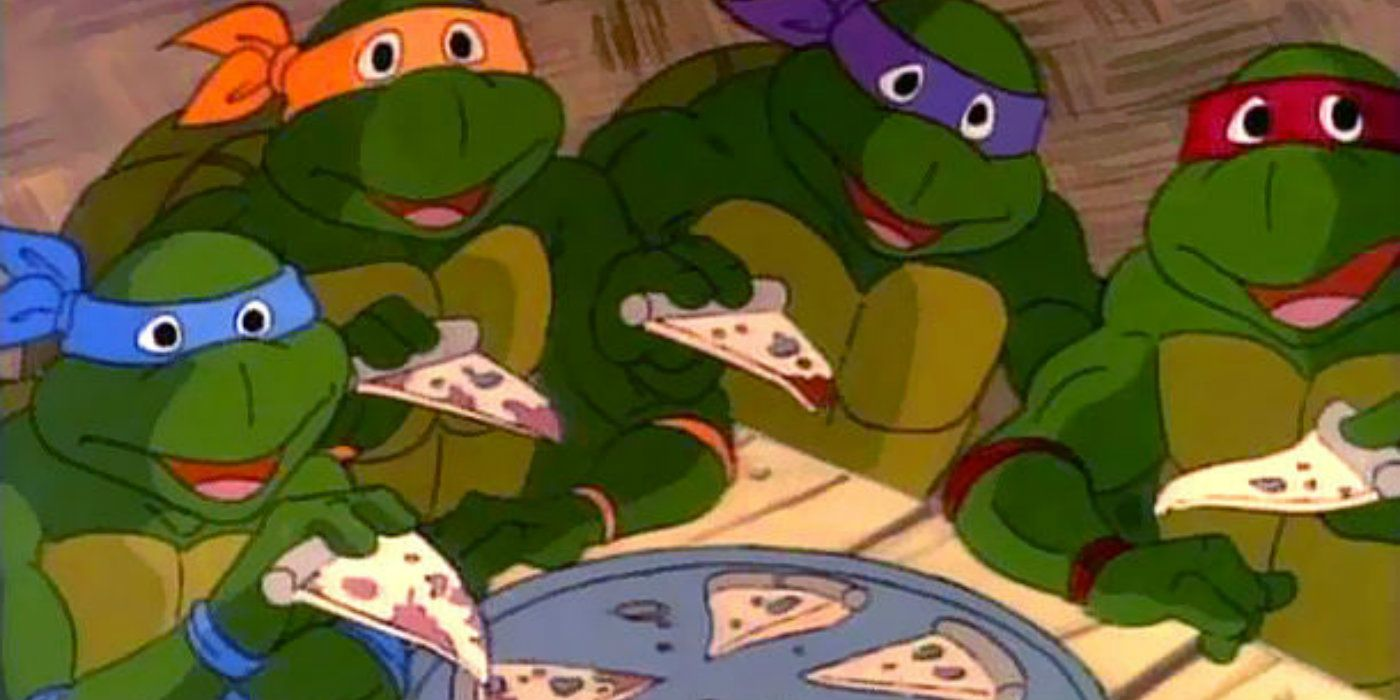 Teenage Mutant Ninja Turtles DIDN'T Love Pizza in the Comics