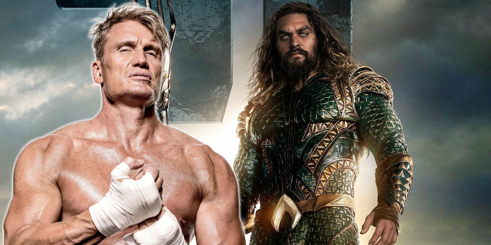 Aquaman Adds Dolph Lundgren