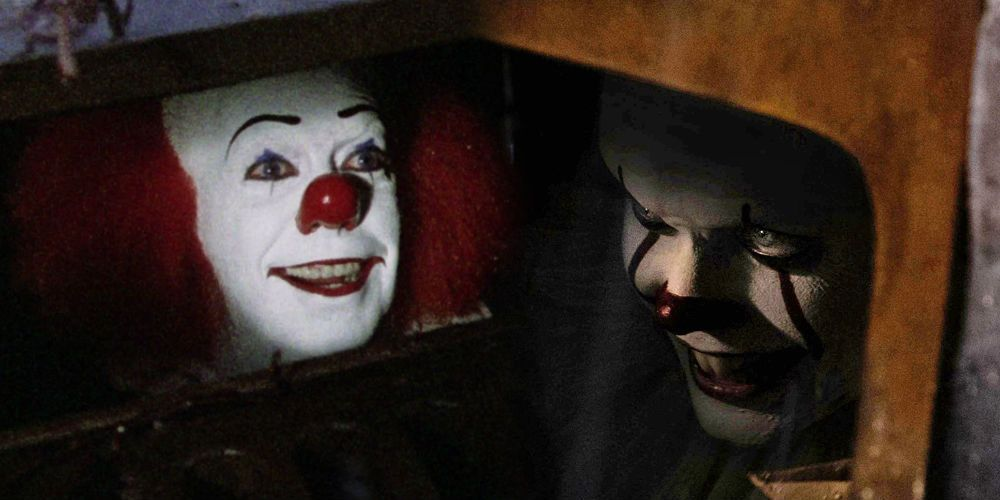 Pennywise The Clown 1990wallpaper: Does The New Pennywise Look Too Scary?