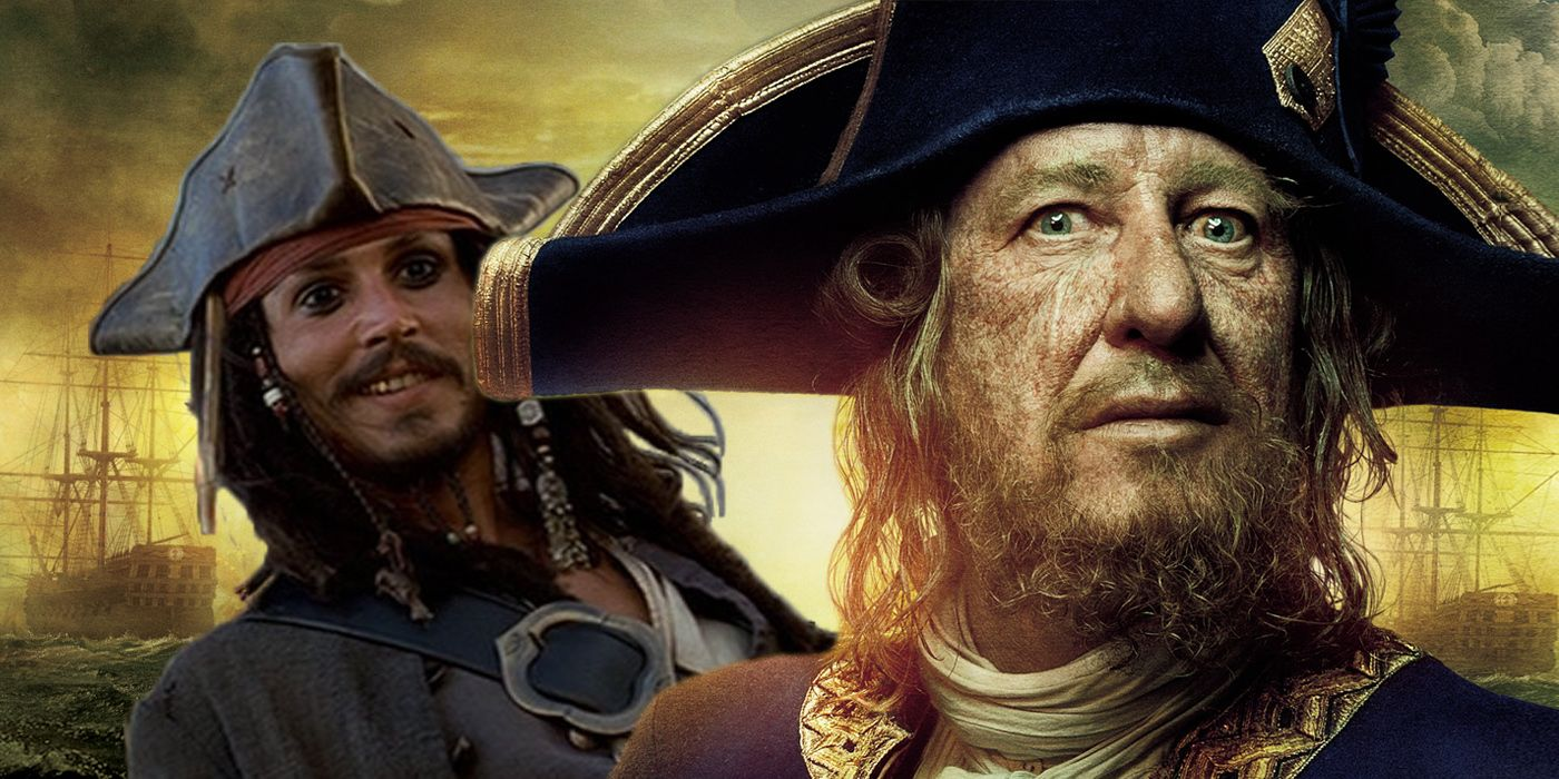 Captain Barbossa is Better Than Jack Sparrow  755e26a45717