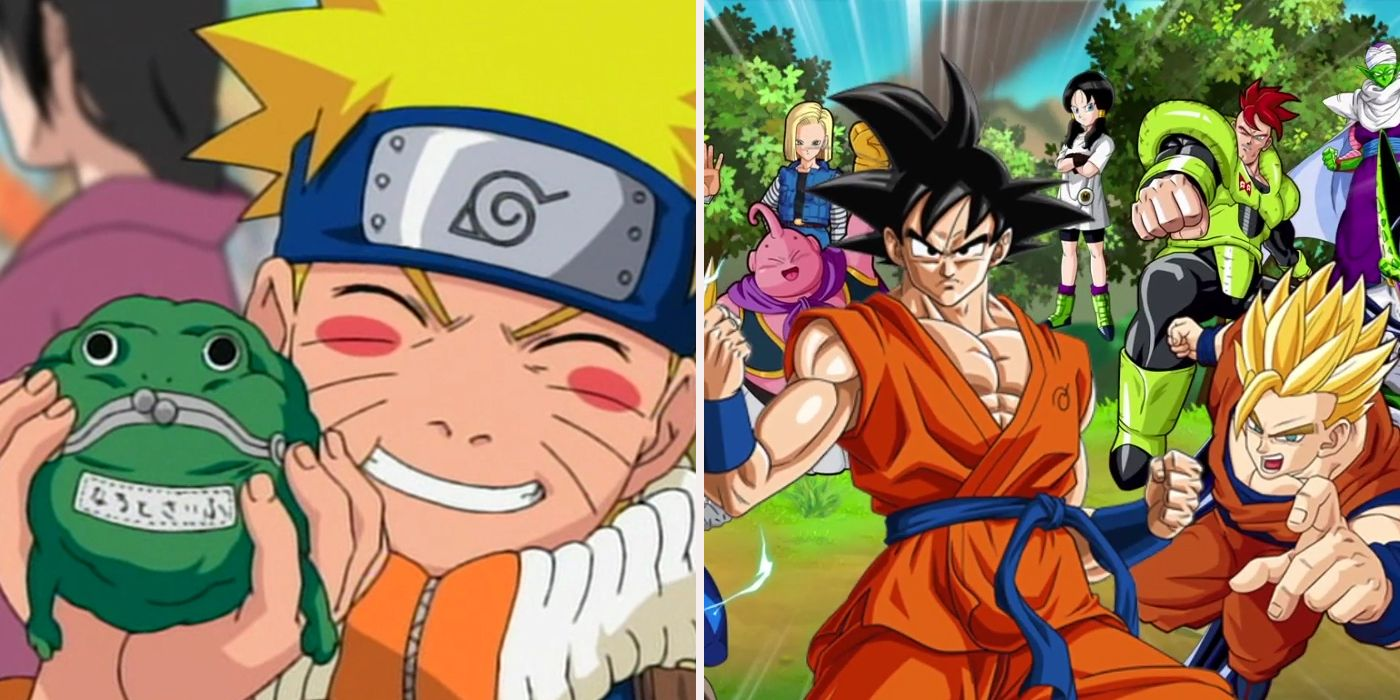 ways naruto is better than dragon ball z screenrant - Dragon Ball Z Com