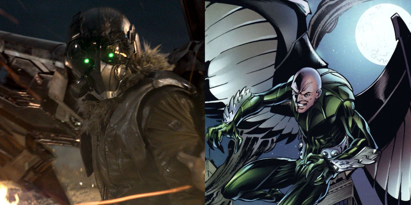 Spider Man Homecoming Vulture Facts History Screenrant