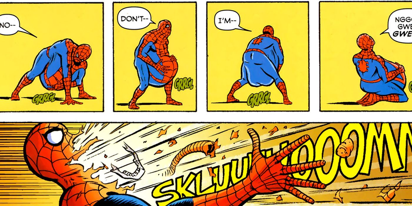 Spider-Man's 15 Most Brutal Injuries   ScreenRant