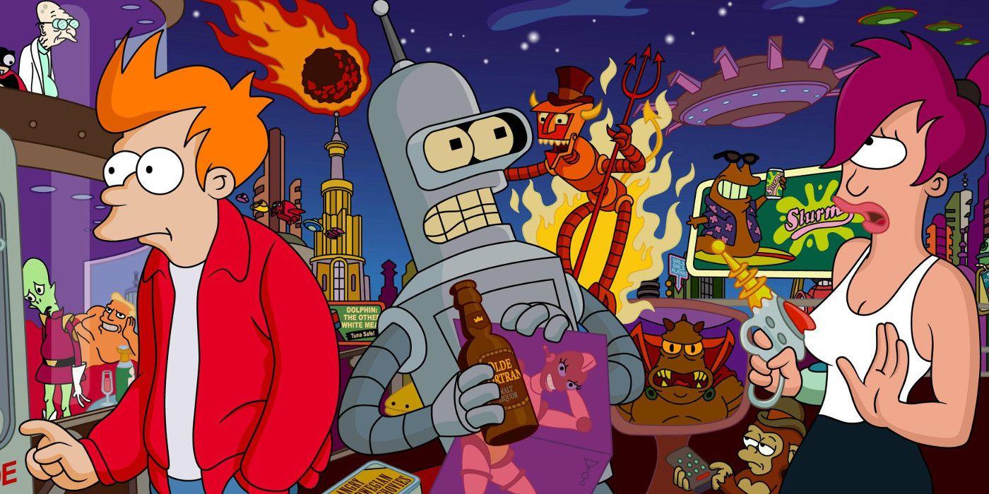 Futurama Fry Leela dating
