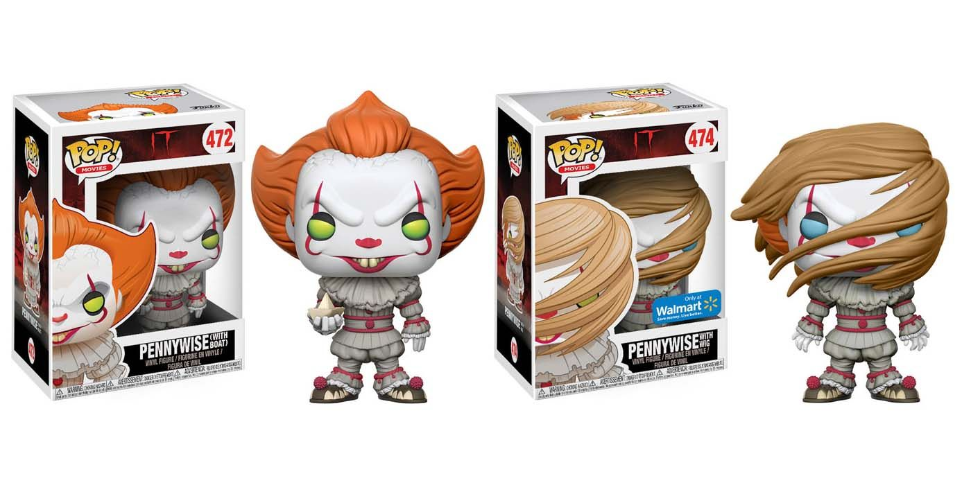 It S Pennywise Gets 4 Different Funko Toys Screenrant