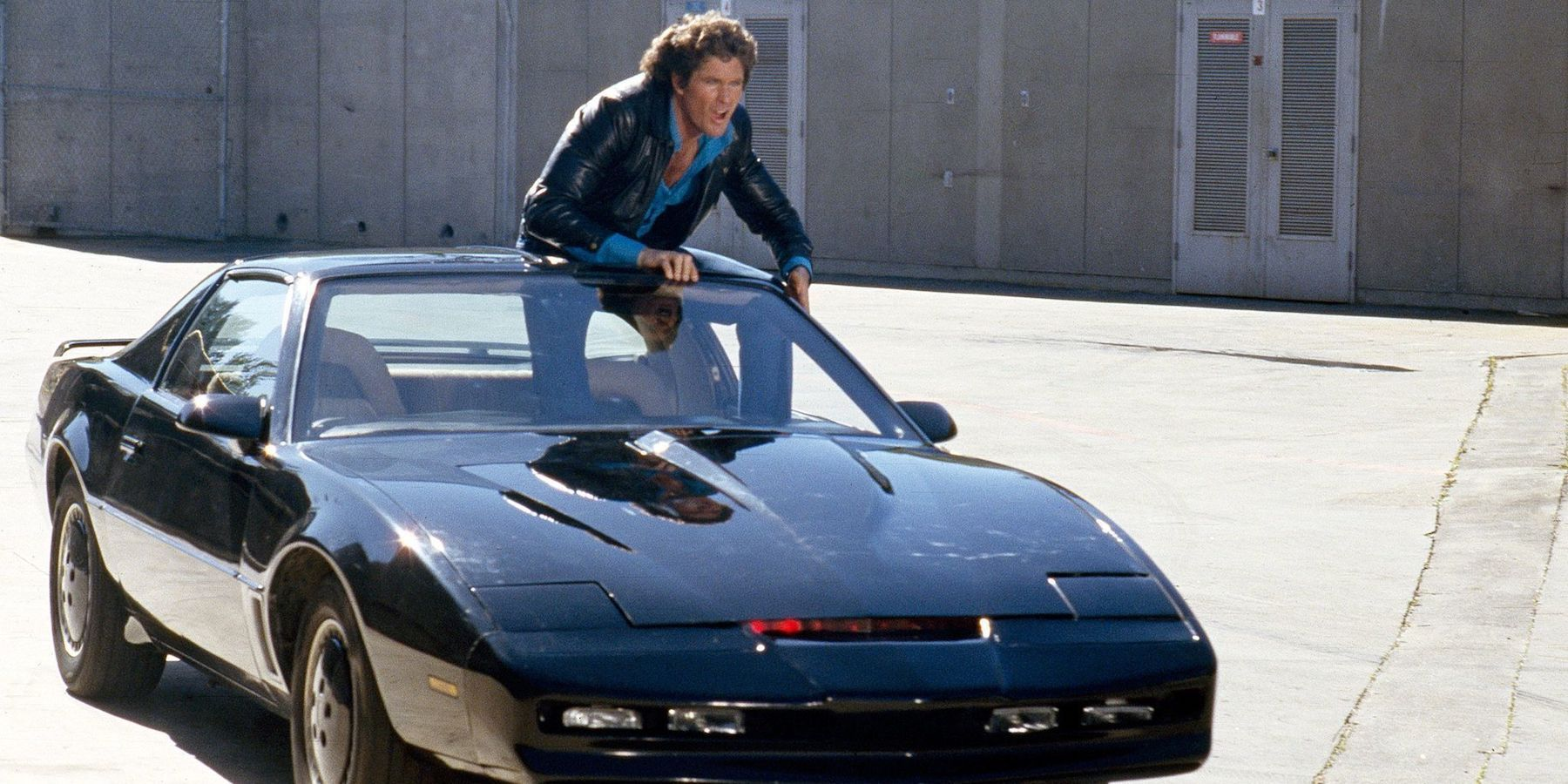 David Hasselhoff Wants Logan-Style Knight Rider