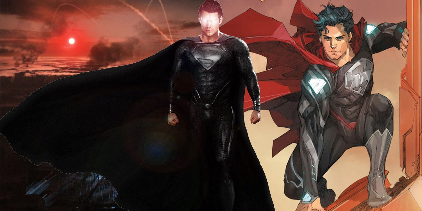 Superman 15 Things You Didnt Know About The Black Suit