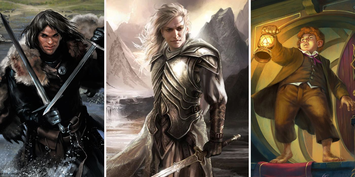 Characters of the Lord of the Rings: to embrace the immensity 51