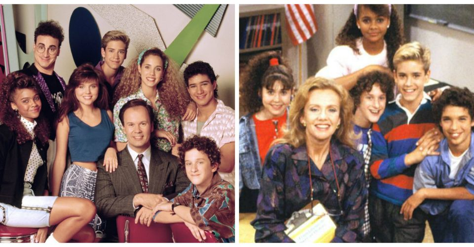 Saved by the bell junior high years