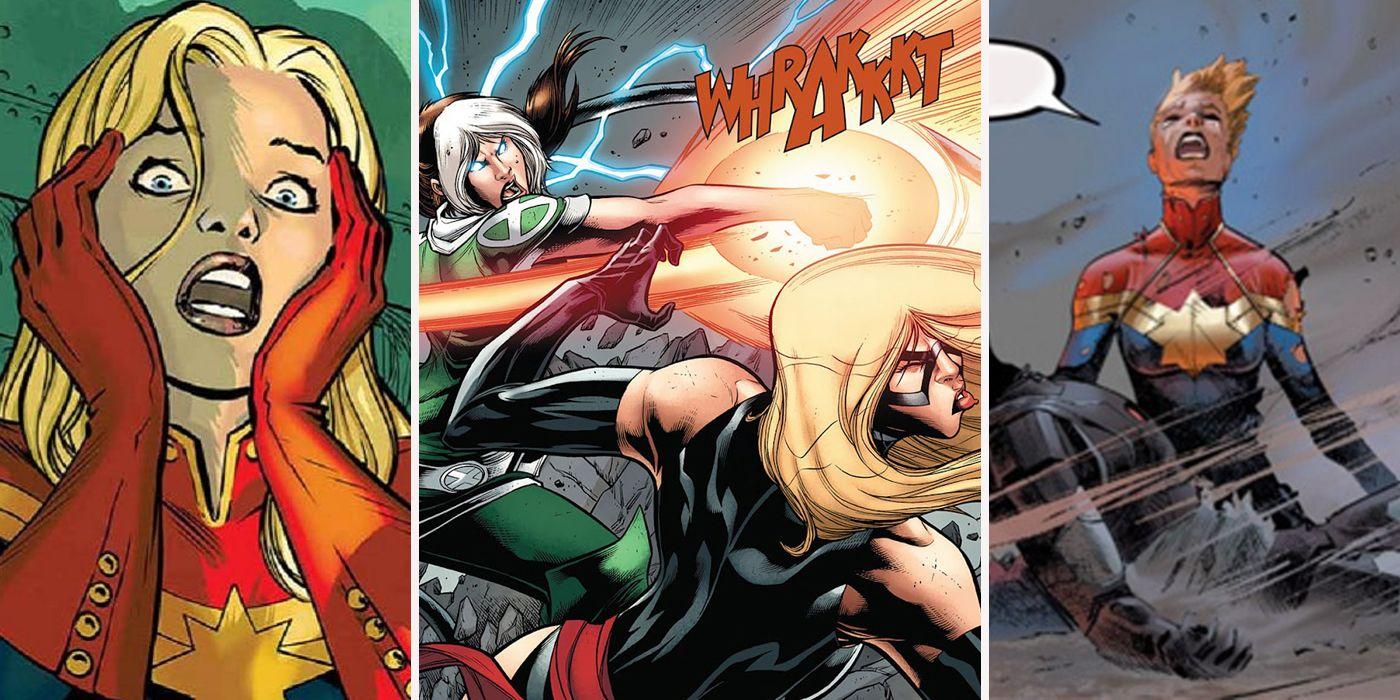 Captain Marvel: Worst Things Happened To Carol | ScreenRant