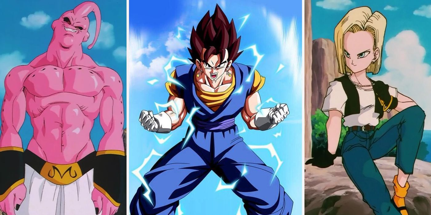 dragon ball z every fighter ranked screenrant - Dragon Ball Z Com
