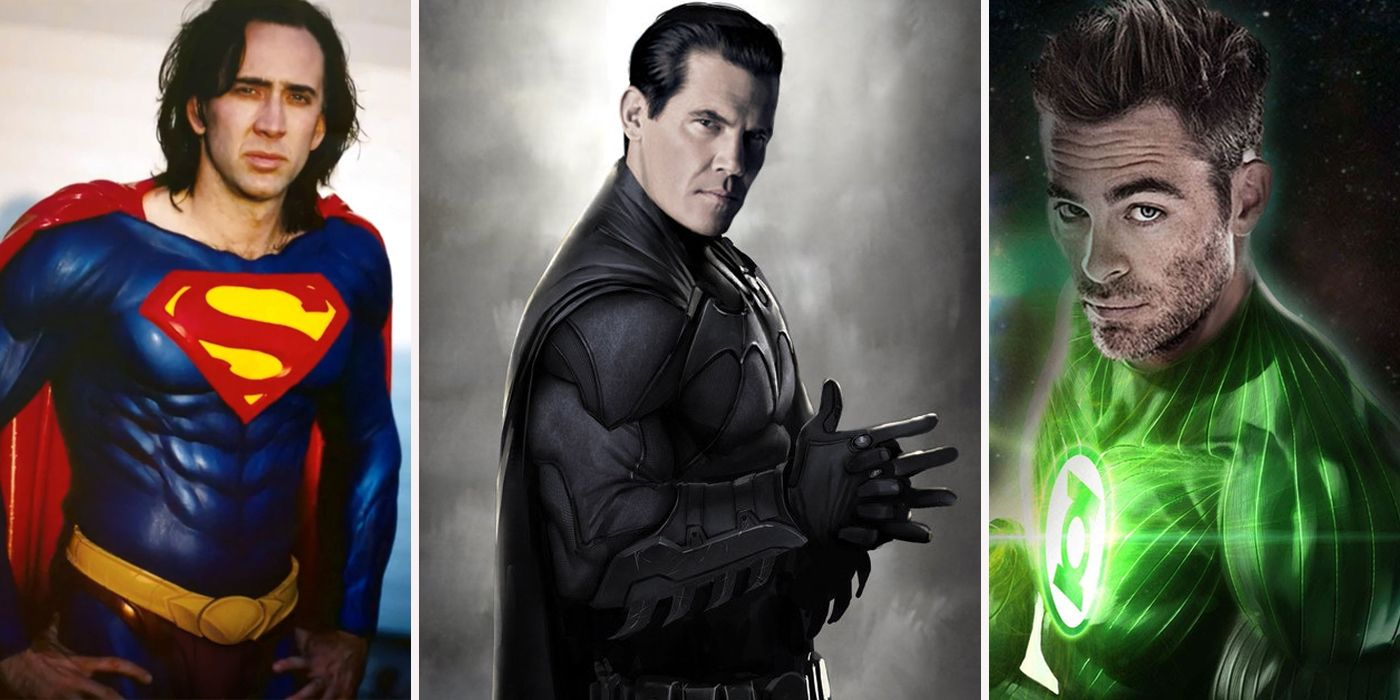 16 Incredible Actors You Didn't Know Almost Played Important Superhero Roles