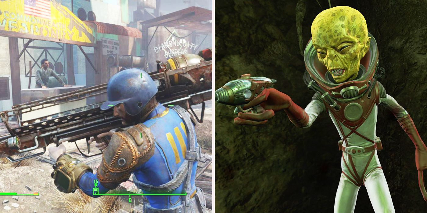 Fallout 4's Most Powerful And Useless Weapons, Ranked