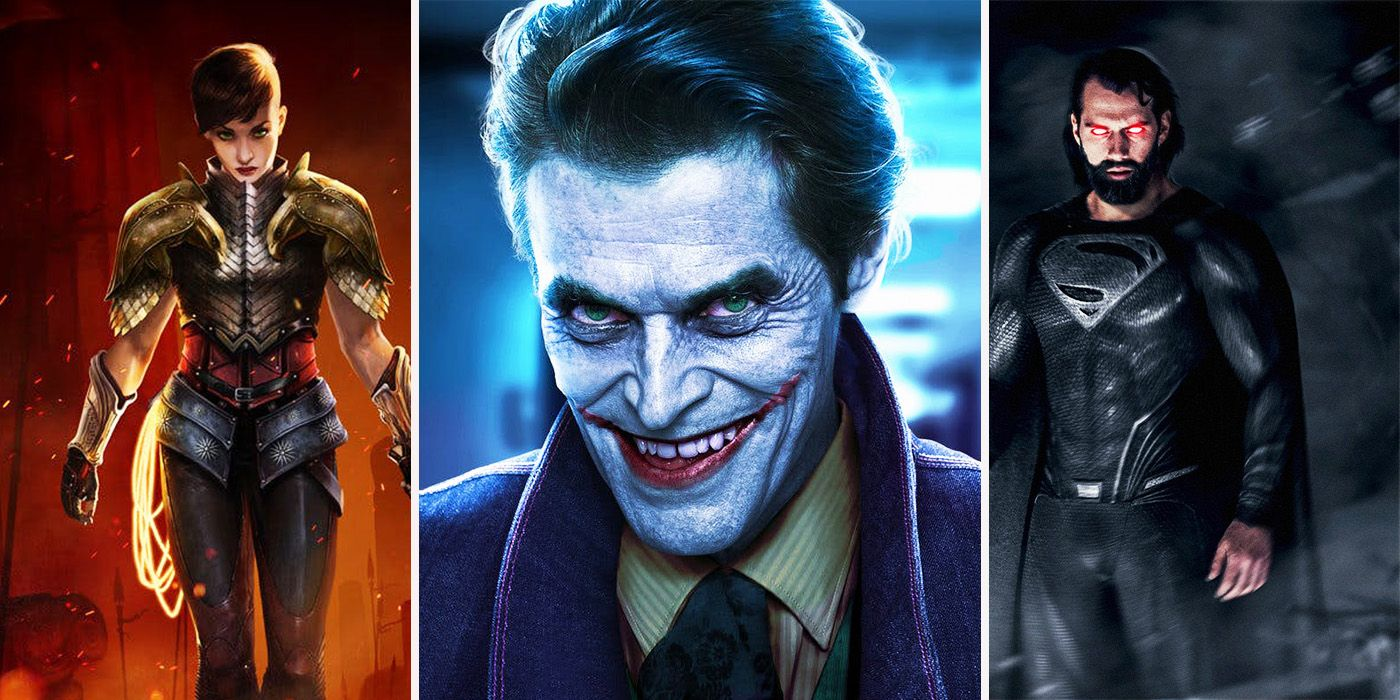 17 Crazy DC Fan Redesigns Better Than The Movies