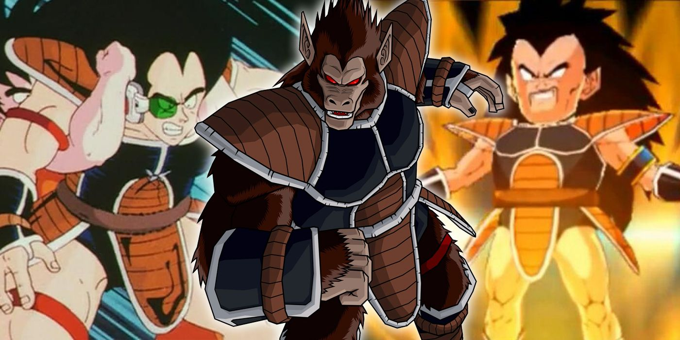 Dragon Ball Z Things You Never Knew About Raditz Screenrant