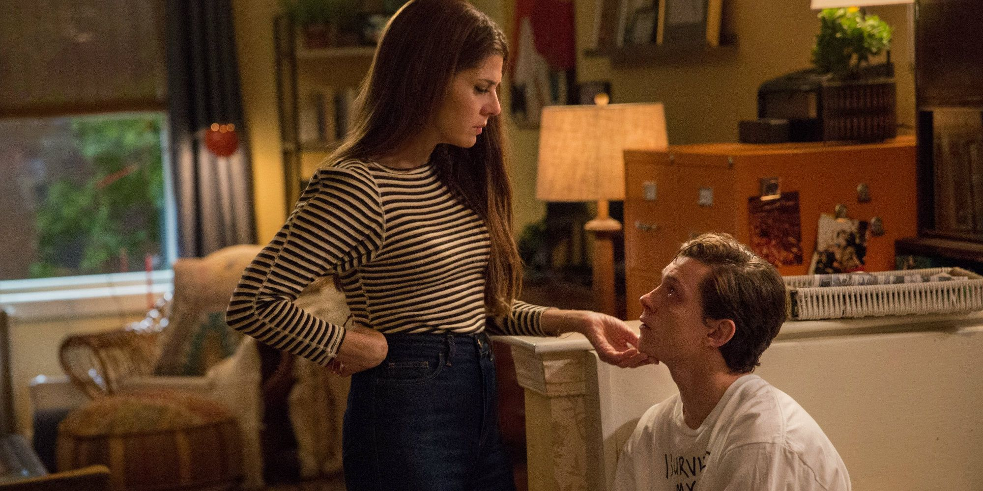 Spider-Man Far From Home Set Video Reunites Peter  Aunt May-6877