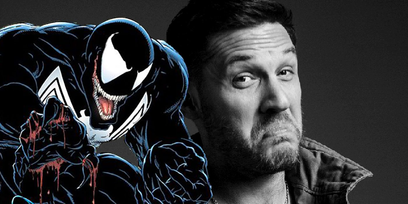 Tom Hardy's Venom Photo Suggests Filming Has Wrapped