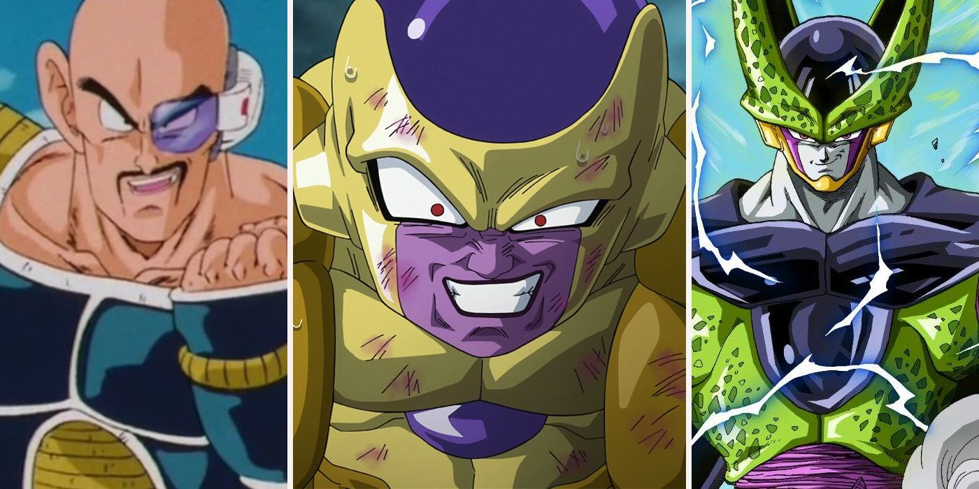 Dragon Ball Every Major Villain Ranked From Weakest To Strongest