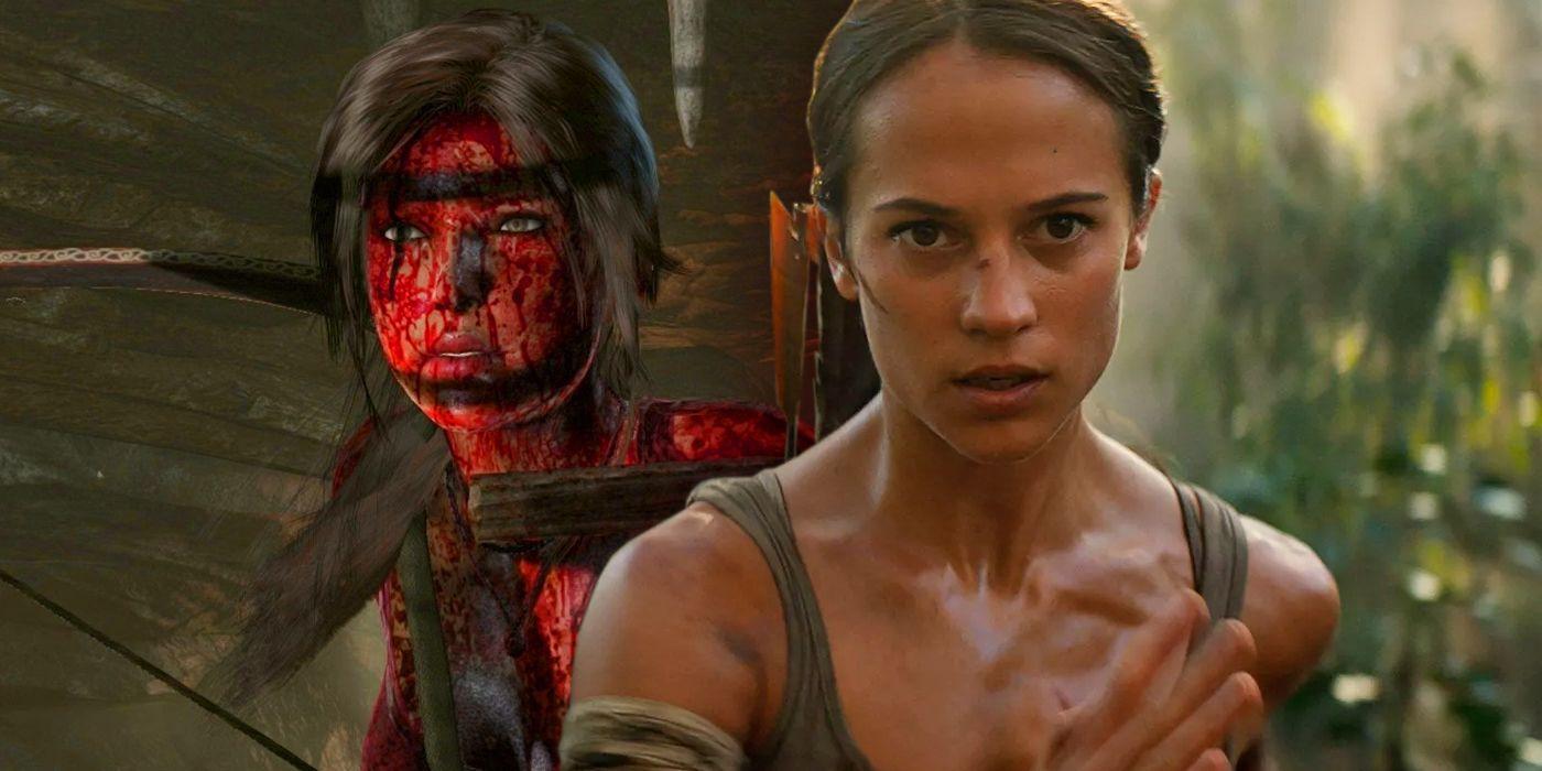 Tomb Raider 2018 Makes A Major Change To Lara Croft Screen