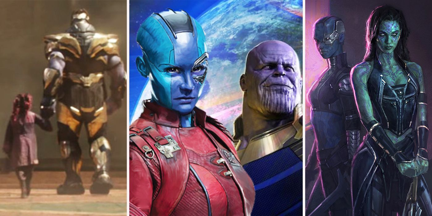 Infinity War: 16 Secrets About Gamora And Nebula's Relationship With