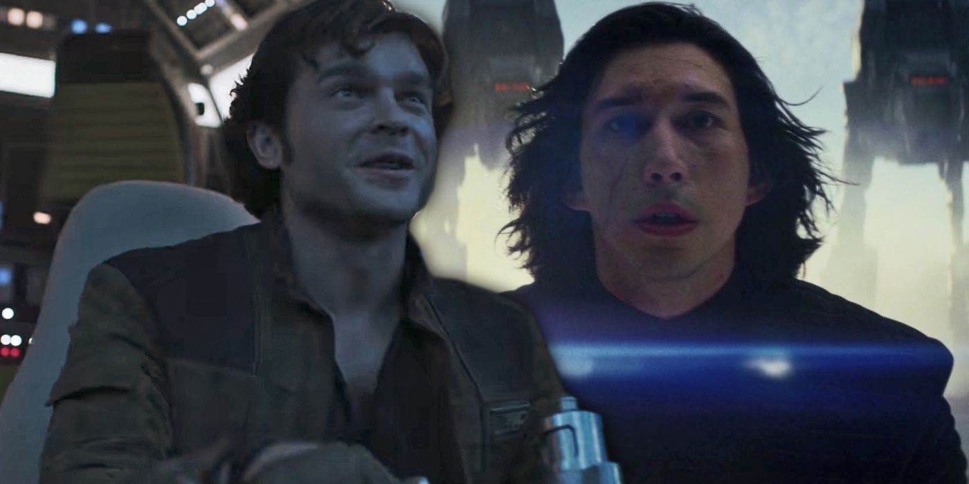Image result for young han and kylo ren