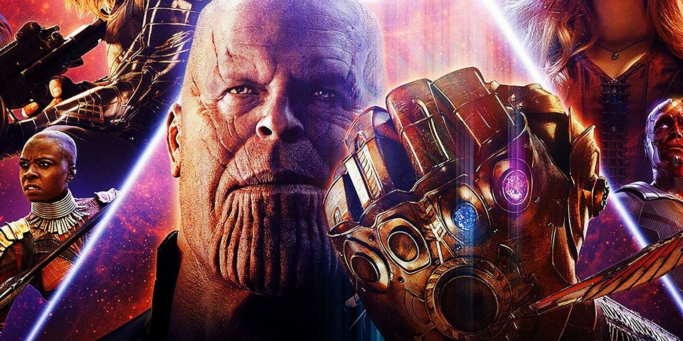Infinity War Outgrosses Six Other MCU Movies in One Weekend Thanos Infinity Gauntlet Movie