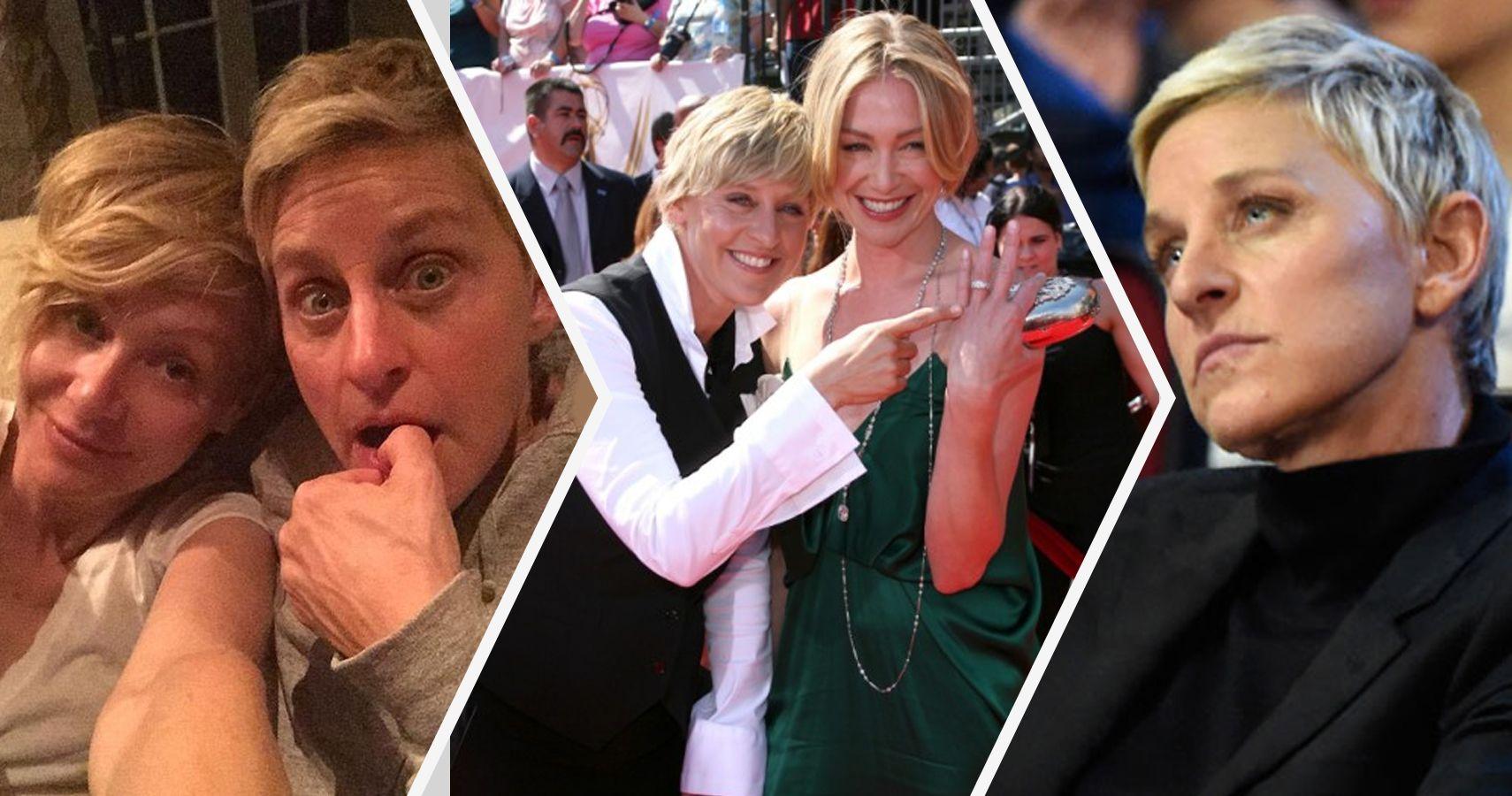 20 crazy secrets about ellen degeneres and portia de rossi s marriage - Ellen show address ...