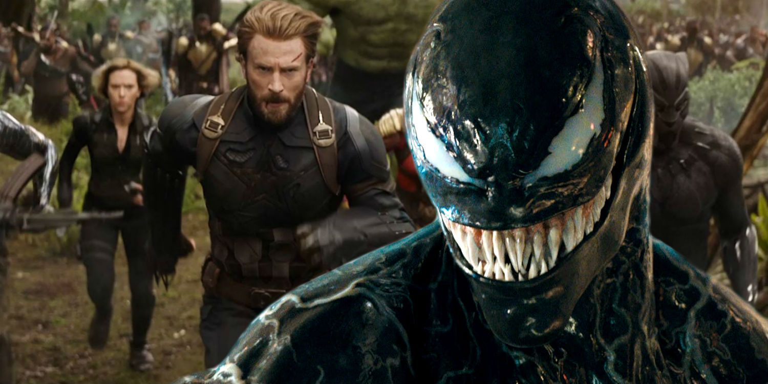 Tom Hardy Wants Venom To Crossover With The Avengers
