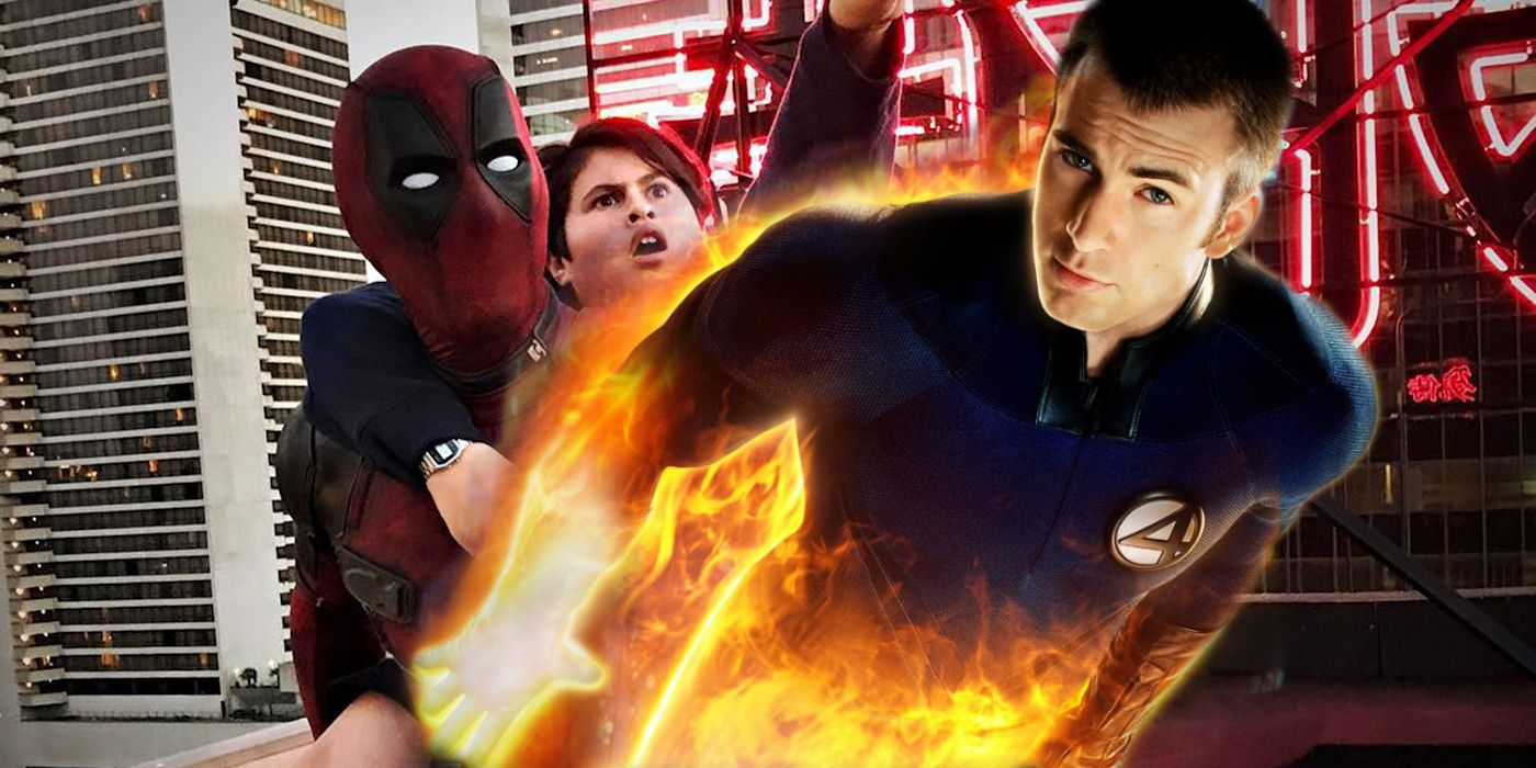 Deadpool 2 Almost Included Chris Evans' Human Torch | Screen