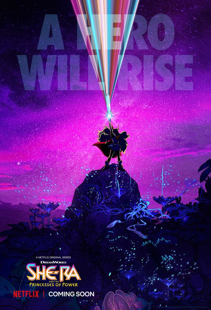 She-Ra and the Princesses of Power Netflix-She-Ra-TV-Series-Poster