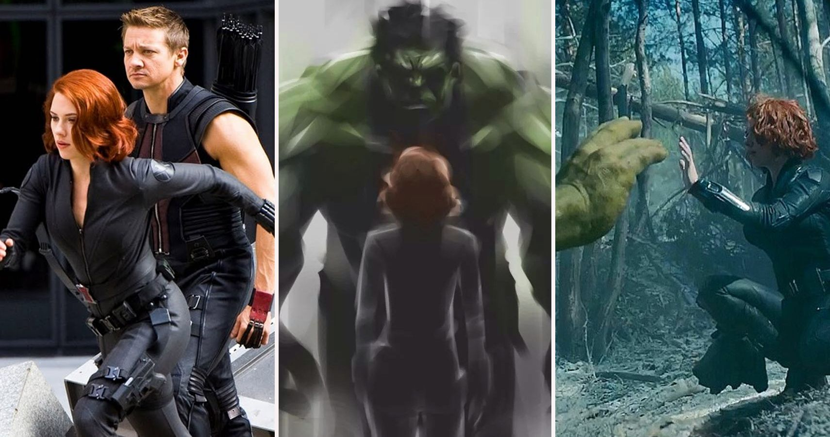 The Avengers: 15 Crazy Secrets About Black Widow And The Hulk's