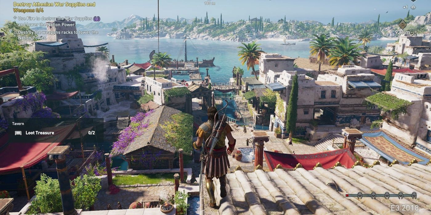Assassin's Creed Odyssey Leaked Screenshots Reveal New Details