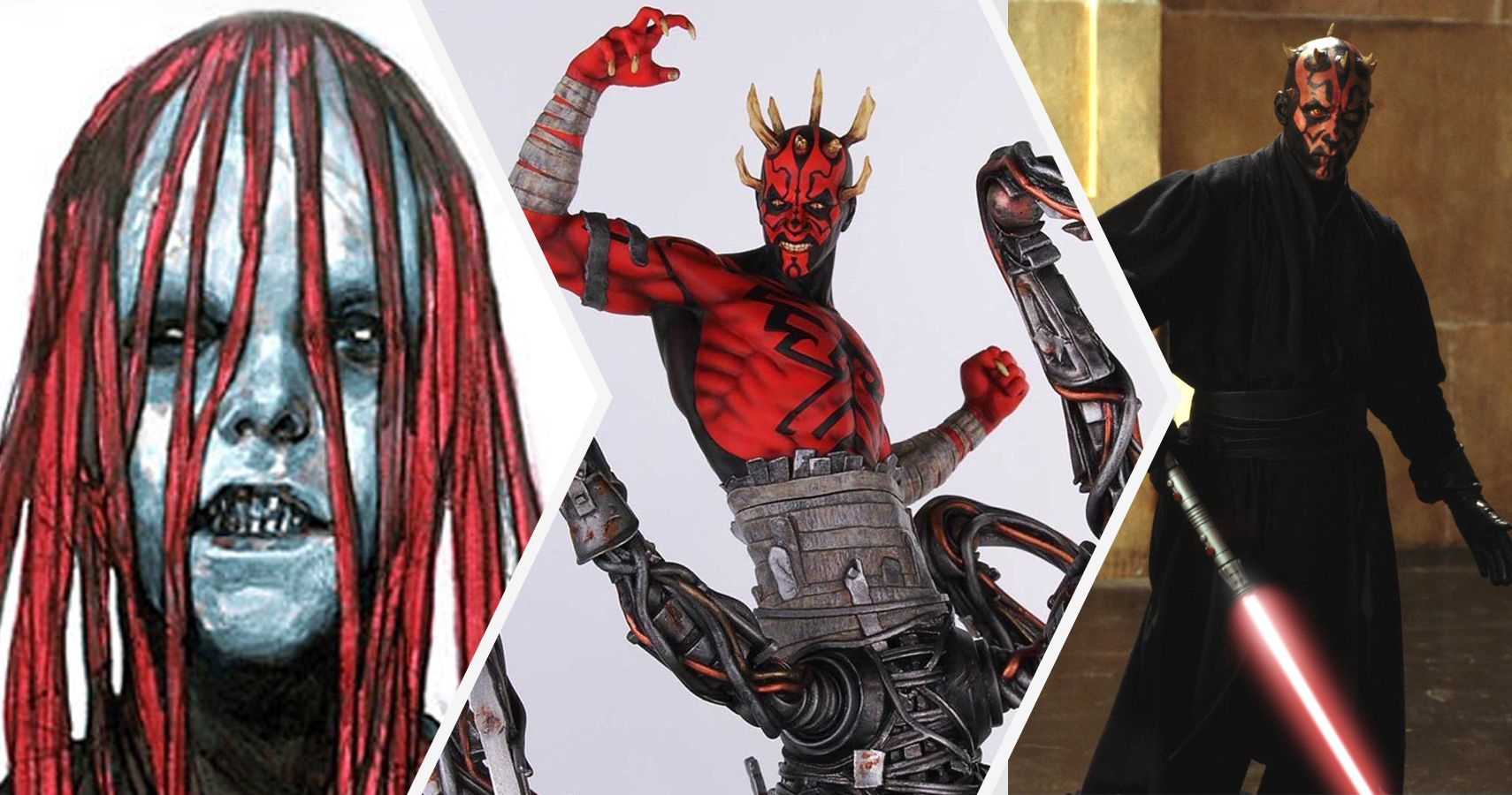 star wars 15 crazy facts about darth maul s body screenrant