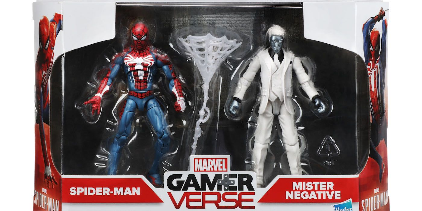 Toys For Gentleman : Ps s spider man gets an action figure line screenrant