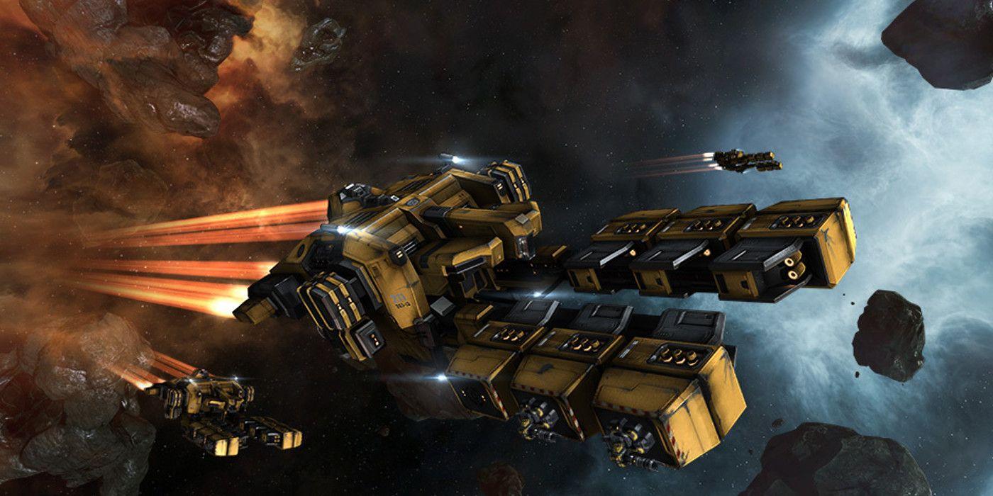 Star Citizen Gets Backlash For Copying EVE Online Ship Design