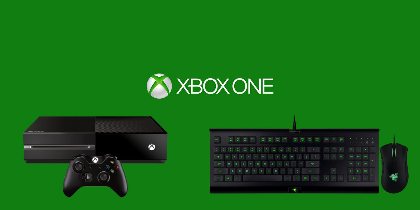 72383d8edc2 Xbox One May Be Getting Keyboard and Mouse Support | ScreenRant