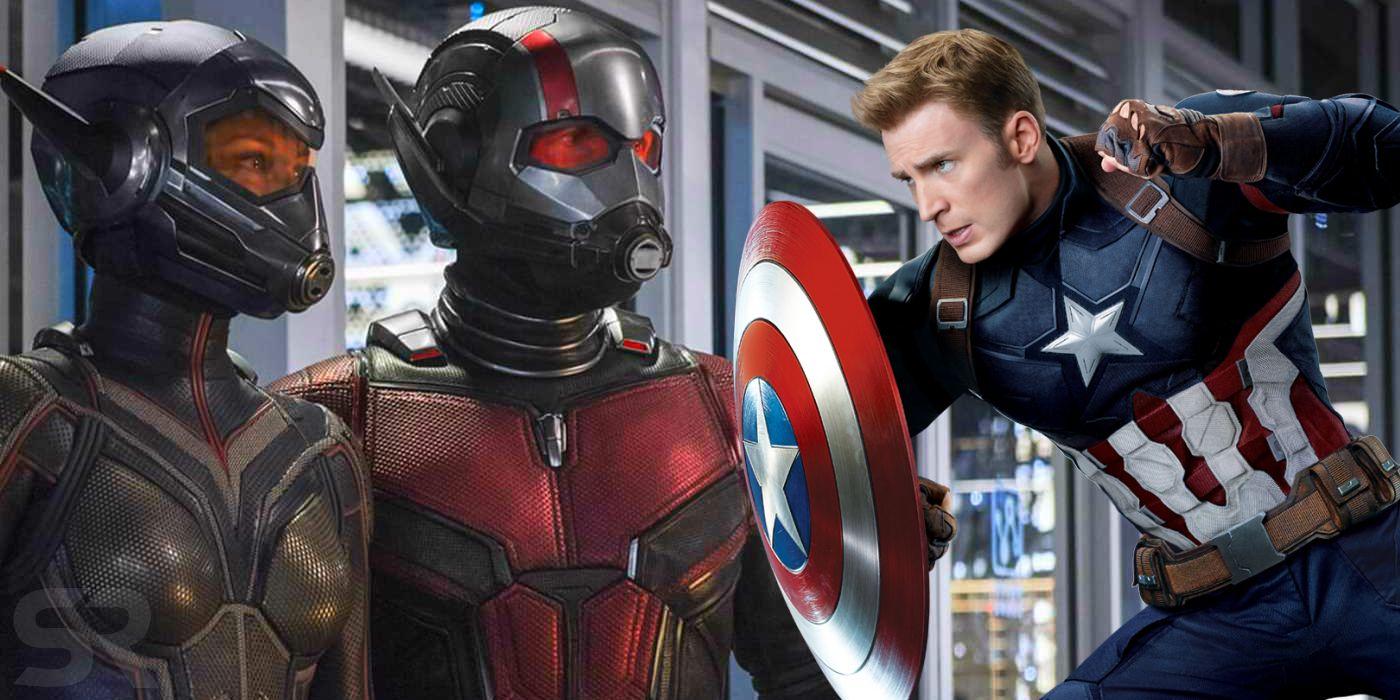 Ant Man Captain America
