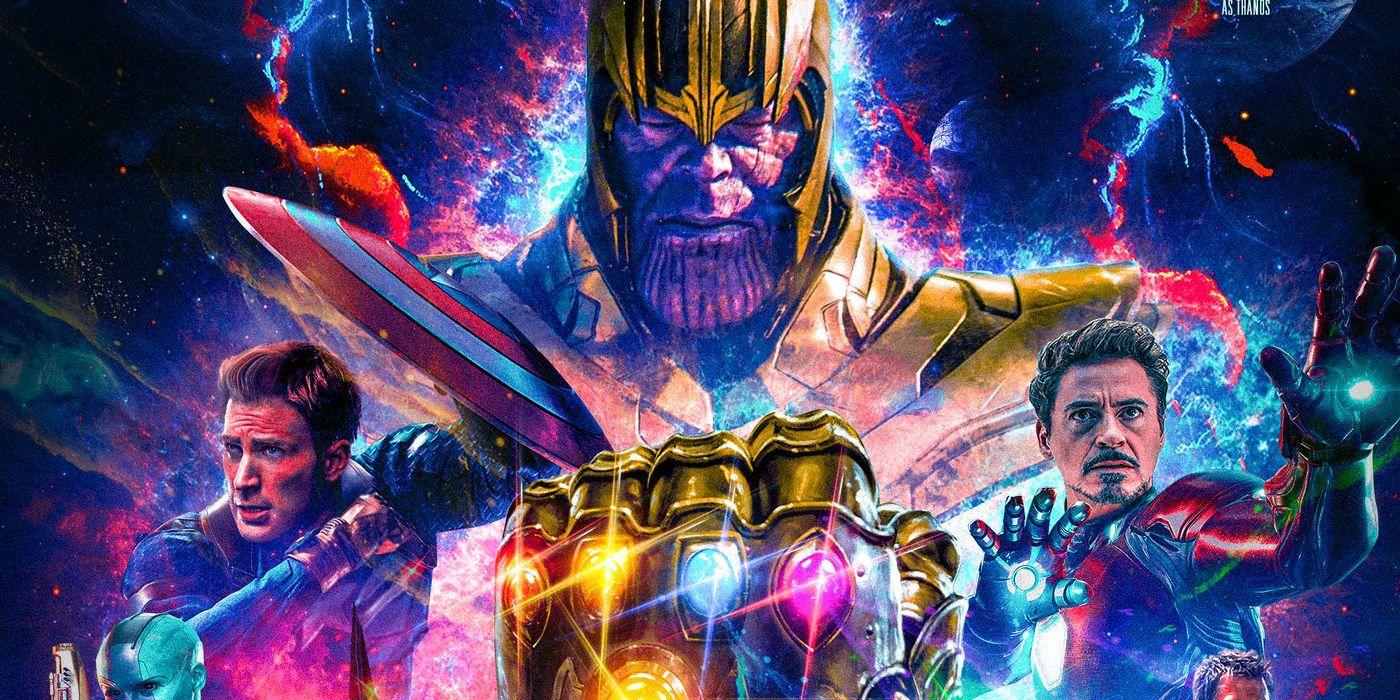avengers 4 fan poster assembles captain marvel & infinity war survivors