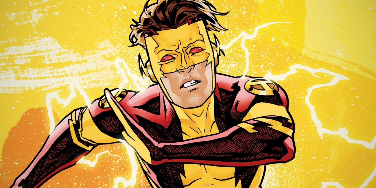 The Flash's Grandson Bart Allen is Finally BACK   Screen Rant