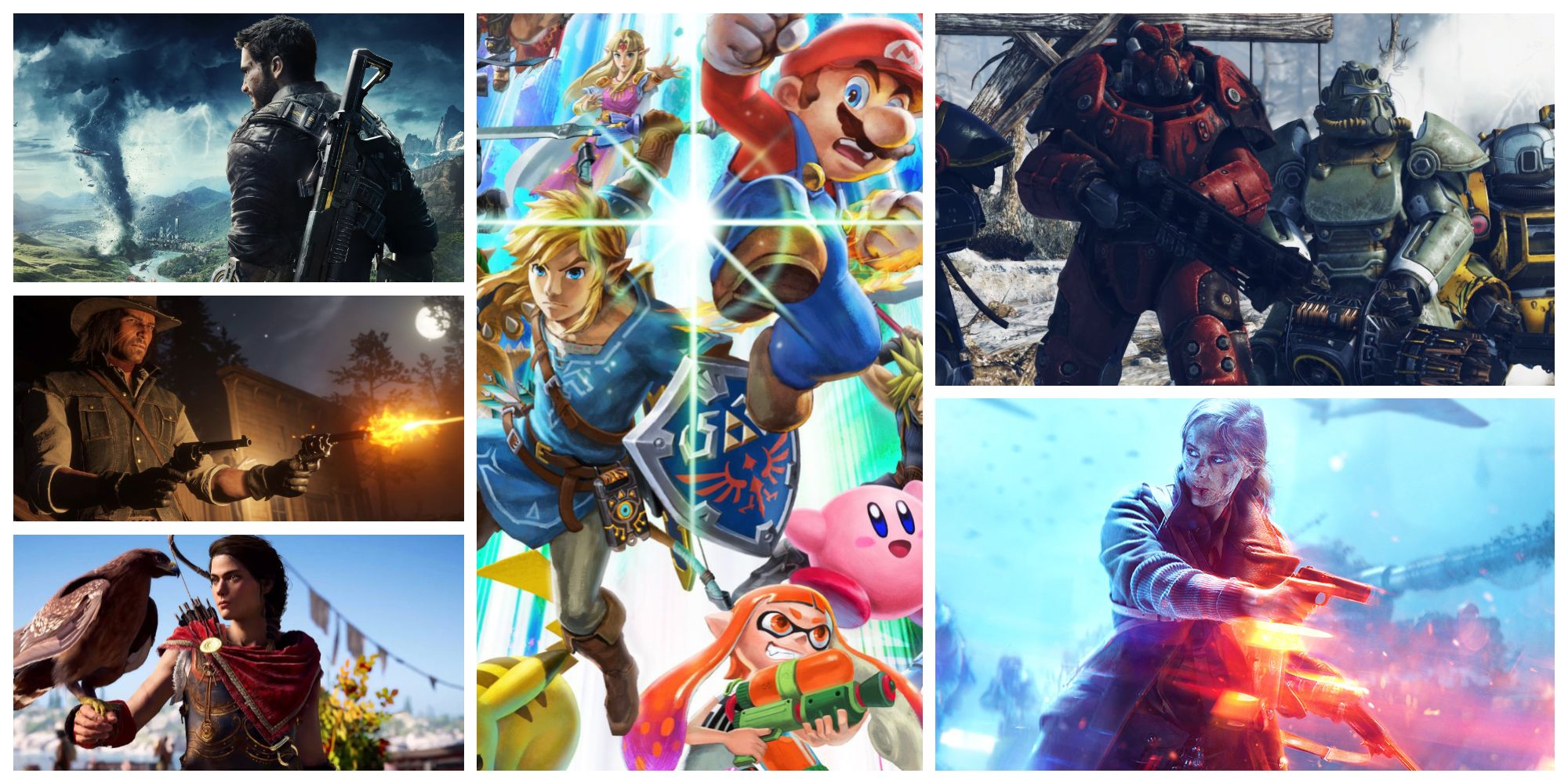 big video game releases 2018