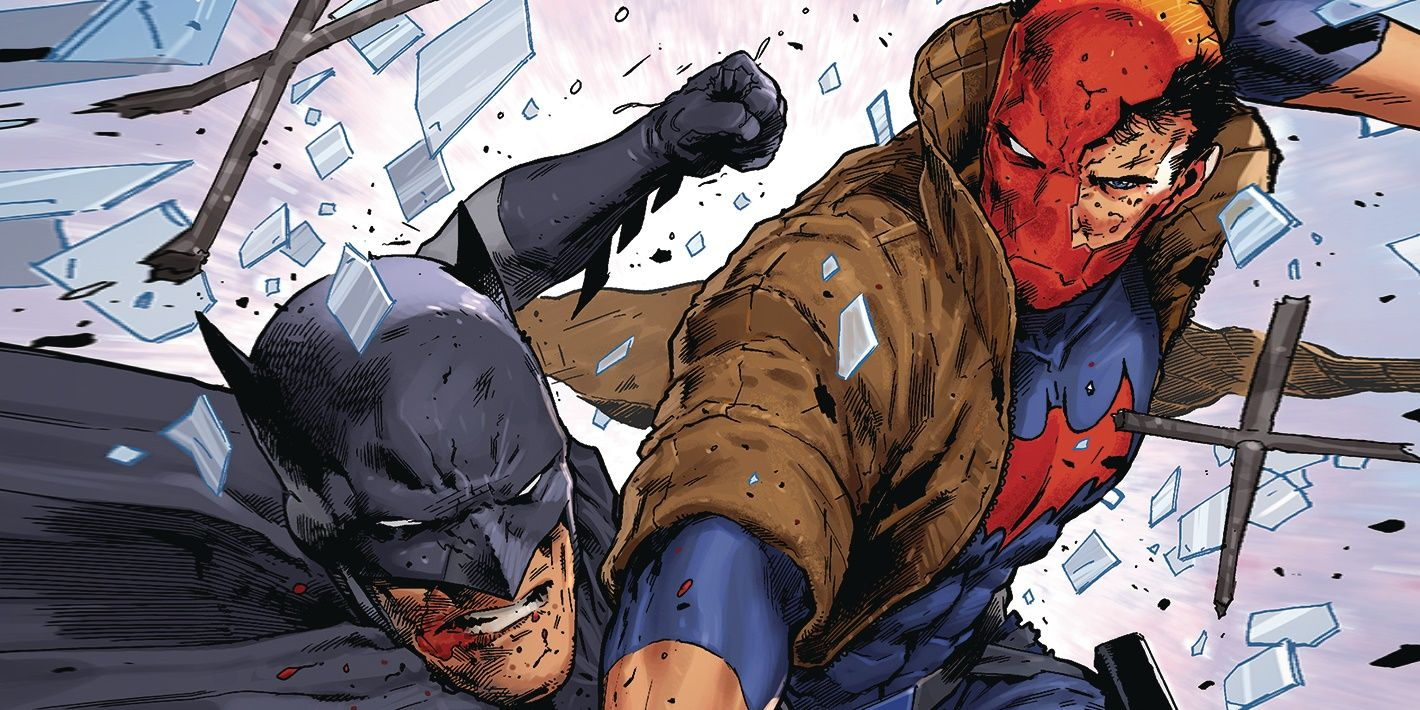 Image result for Red hood vs batman
